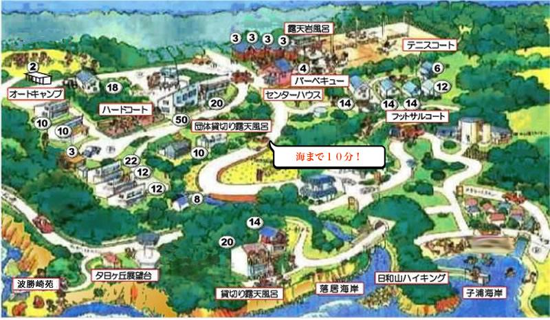 南伊豆ランドホピア地図